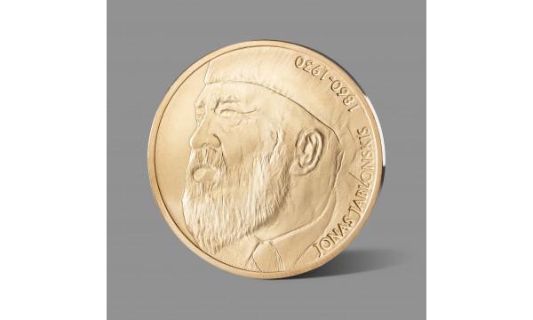 Jonui Jablonskiui dedikuotas paauksuotas medalis