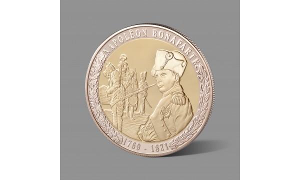 Napoleonui Bonapartui skirtas paauksuotas medalis