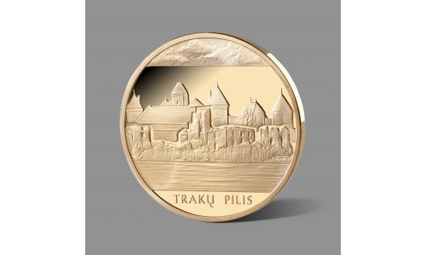 Lietuvos istorinei vertybei – Trakų salos piliai skirtas paauksuotas medalis