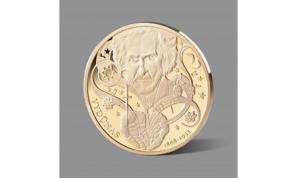 Filosofui ir rašytojui Vydūnui skirtas paauksuotas medalis